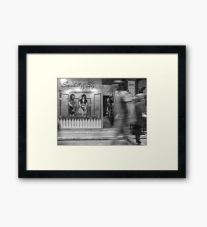 Scarlett & Sly Framed Print