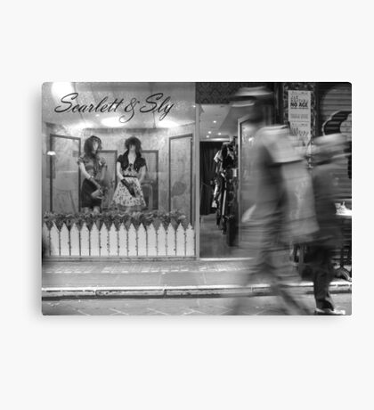 Scarlett & Sly Canvas Print