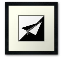 Paper Airplane 38 Framed Print