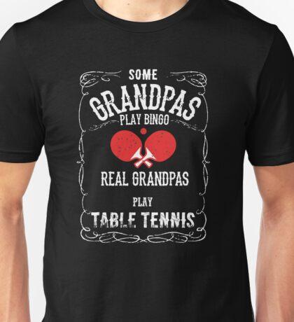 Table Tennis Grandpa Unisex T-Shirt