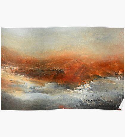 Rust Landscape II Poster