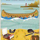 Green River Canoes Calendar 2 by Steven House