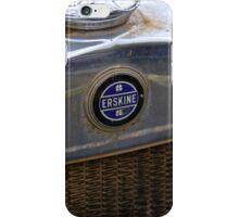1928 Erskine Emblem iPhone Case/Skin