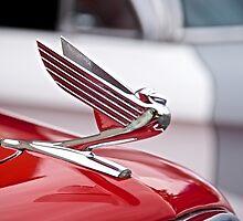 1935 Chevrolet Hood Ornament by DaveKoontz