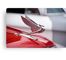1935 Chevrolet Hood Ornament Canvas Print