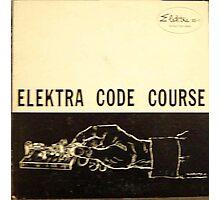 Elektra Code Course, Morse Code, Telegraph, Wire Photographic Print