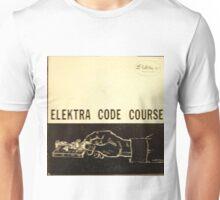 Elektra Code Course, Morse Code, Telegraph, Wire Unisex T-Shirt