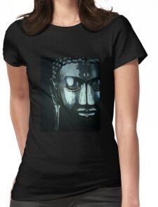buddha métal Womens Fitted T-Shirt