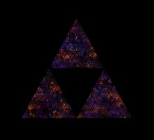 Space Darker Triforce  by Hawkness