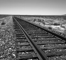 Railroad Tracks by Frank Romeo