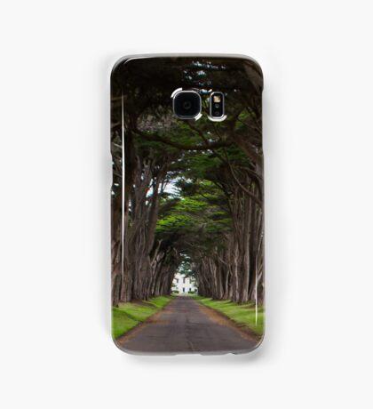 Cypress Tree Tunnel Samsung Galaxy Case/Skin