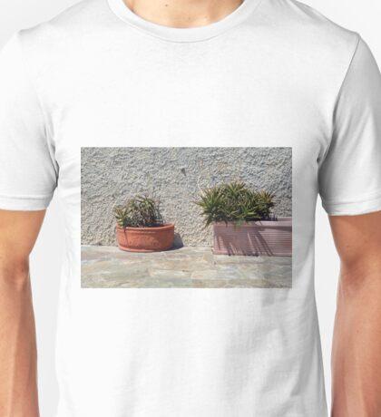 Cacti in flower pots Unisex T-Shirt