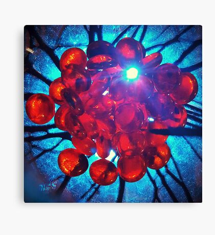 Red Cells Canvas Print