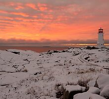 Peggy's Point sunset by Roxane Bay