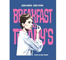 Breakfast at Tiffany's Movie Poster Photographic Print