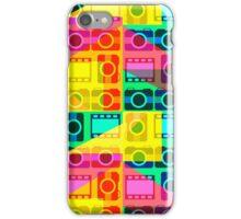 Bright camera pattern iPhone Case/Skin