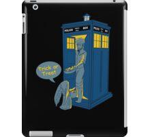 Tardis Trick Or Treat iPad Case/Skin