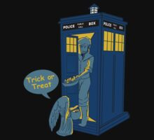 Tardis Trick Or Treat by nardesign