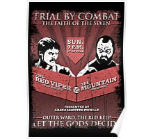 The Red Viper VS The Mountain Poster