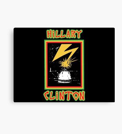 Hillary Brains Canvas Print