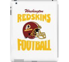 washington redskins football helmet iPad Case/Skin