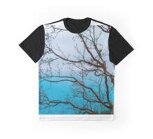 Beautiful autumn colors in mountains, landscape natural view, France Graphic T-Shirt