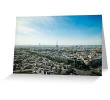 Paris Horizon Greeting Card