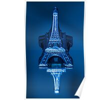 mini Eiffel Tower Poster