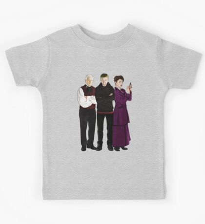 Doctor Who - The Three Masters Kids Tee