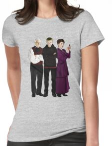 Doctor Who - The Three Masters Womens Fitted T-Shirt