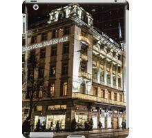 Paradeplatz by Night iPad Case/Skin