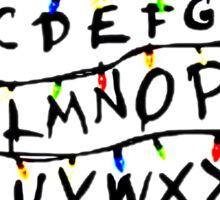 Stranger things ABCs Sticker