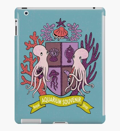 The Royal Aquarium Souvenir Shop iPad Case/Skin