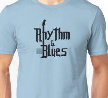 Rhythm and blues black color Unisex T-Shirt