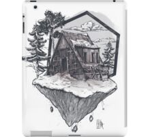 Lonely Snow House iPad Case/Skin