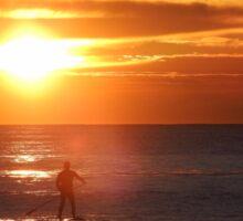 Sunrise Standup Paddle Sticker