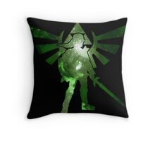 Night warrior Throw Pillow