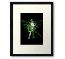 Night warrior Framed Print