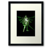 Night warrior Framed Print