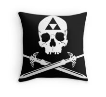 Pirates of the Hyrule Throw Pillow