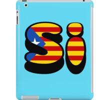 Si catalunya iPad Case/Skin