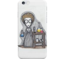 madame curie iPhone Case/Skin