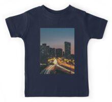 Toronto Road At Night Kids Tee