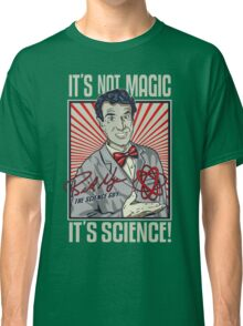 "Official Bill Nye ""It's Science"" Tee Classic T-Shirt"