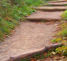Autumn Trails Sticker