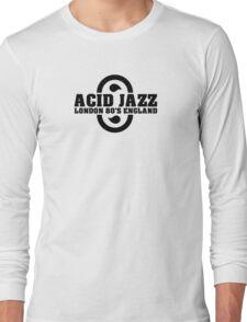 Acid jazz london black color Long Sleeve T-Shirt