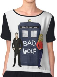 The Ninth Doctor and Rose Chiffon Top