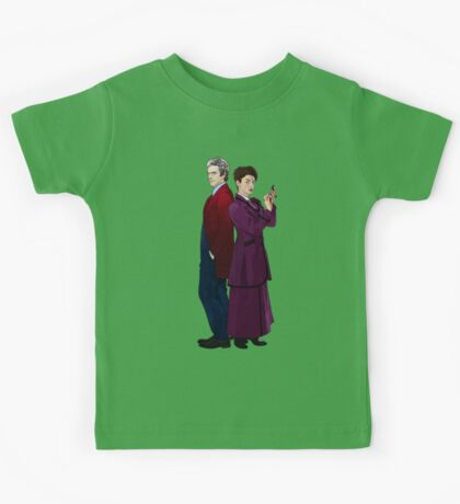 Missy and The Doctor Kids Tee