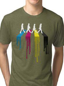 Abbey CMYK Tri-blend T-Shirt