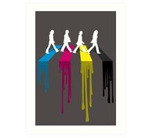 Abbey CMYK Art Print